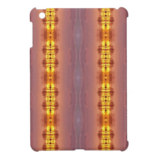 Vibrant Multi Colored Artistic Pattern iPad Mini Cover