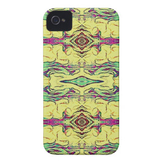 Vibrant Multi Colored Artistic Pattern iPhone 4 Case-Mate Case