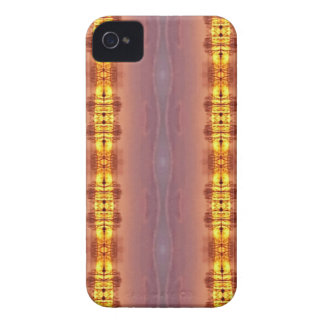 Vibrant Multi Colored Artistic Pattern iPhone 4 Cover