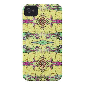 Vibrant Multi Colored Artistic Pattern iPhone 4 Cover