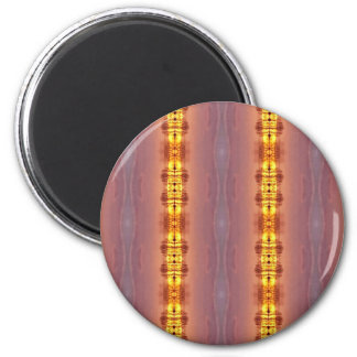 Vibrant Multi Colored Artistic Pattern Magnet