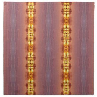 Vibrant Multi Colored Artistic Pattern Napkin