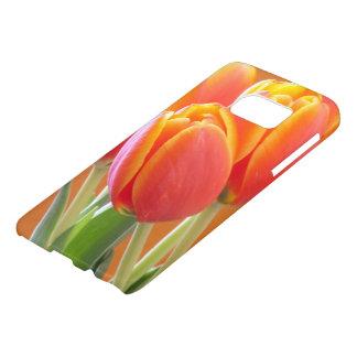 Vibrant Orange Tulip Photograph