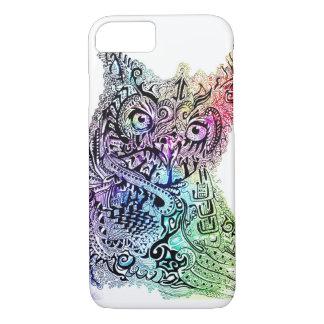Vibrant Owl Phone Case
