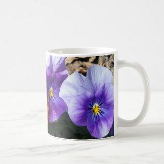 Vibrant Pansies Coffee Mug