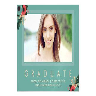 Vibrant | Photo Graduation Announcement