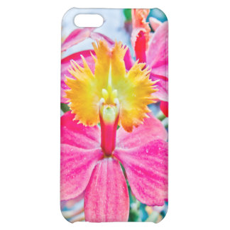 Vibrant Pink Orchid Art iPhone 5C Cover