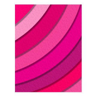 Vibrant Pink Postcard