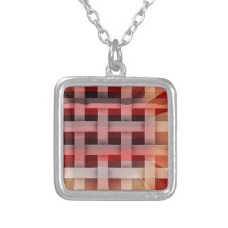 Vibrant Plaid Necklaces