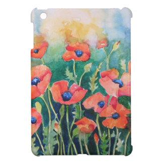 Vibrant Poppies iPad Mini Covers