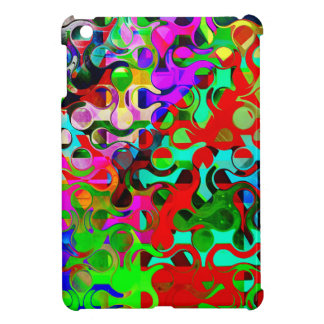 Vibrant Rainbow Colored Pattern Abstract Case For The iPad Mini