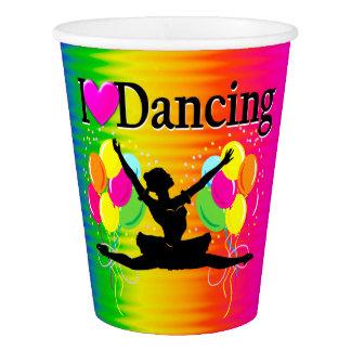 VIBRANT RAINBOW I LOVE DANCING DESIGN