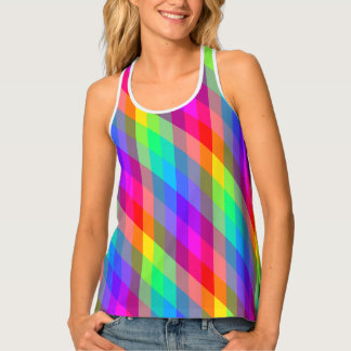 Vibrant Rainbow Prism Singlet