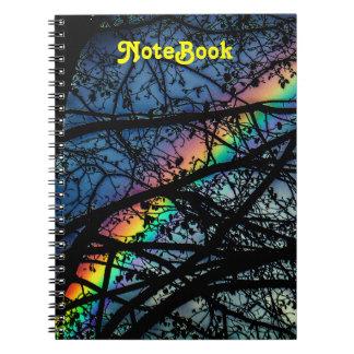 Vibrant Rainbow | Spring Tree Notebook