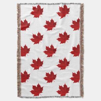 Vibrant Red Maple Leaf Design