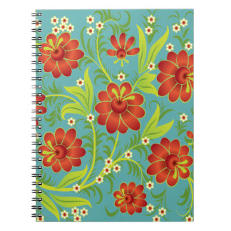 Vibrant Red Note Books