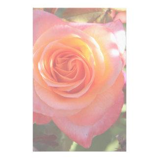 Vibrant Rose Customised Stationery
