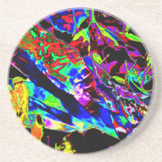 Vibrant Scatter Beverage Coaster