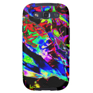 Vibrant Scatter Galaxy SIII Covers