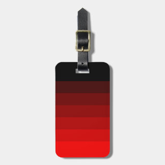 Vibrant Shades of Red. Travel Bag Tags