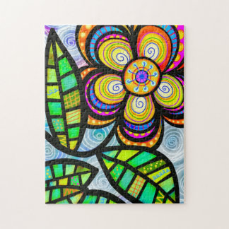 Vibrant Spring Flower Jigsaw Puzzle