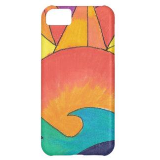 Vibrant Sun Shine a Light iPhone 5C Cover