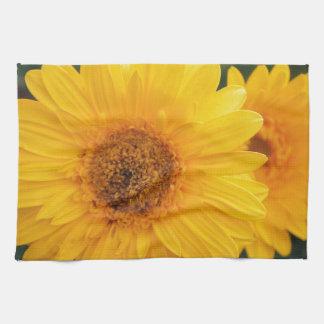 Vibrant Sunflower Tea Towel