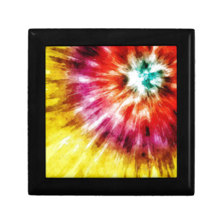 Vibrant Tie Dye Abstract Gift Box