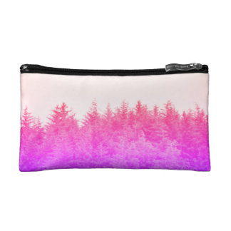 Vibrant Trees Bag Makeup Bag
