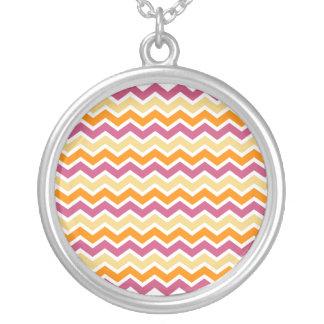 Vibrant Tribal ZigZag Custom Necklace