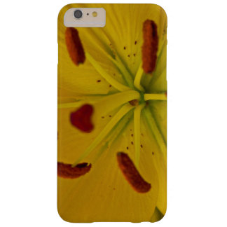 Vibrant Yellow Lily Barely There iPhone 6 Plus Case