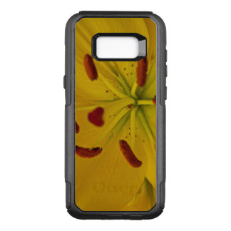 Vibrant Yellow Lily OtterBox Commuter Samsung Galaxy S8+ Case