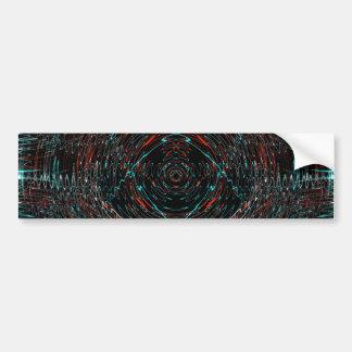Vibrations Bumper Sticker