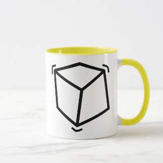Vibrator cube mug