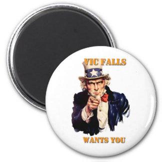 Vic Falls Wants You Fridge Magnets