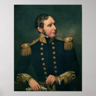 Vice Admiral Robert Fitzroy Poster