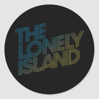 Vice Beach Round Sticker