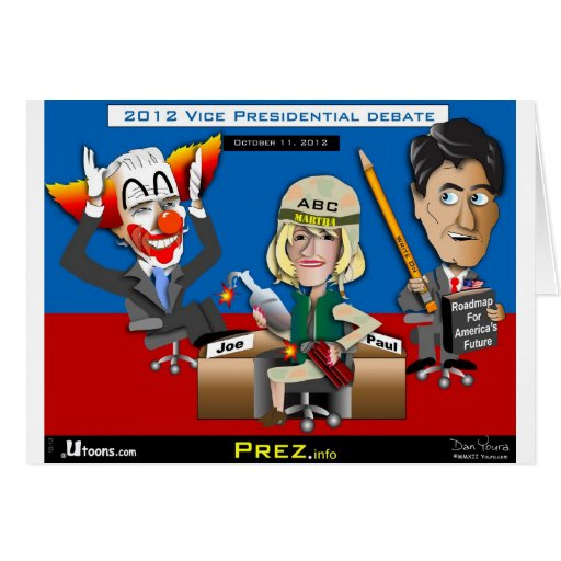 Vice President Debate Oct 2012 Cards