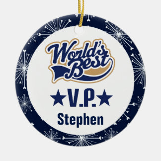 Vice President Personalized Gift Ornament