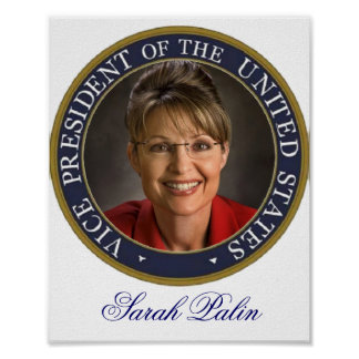 Vice President Sarah Palin Poster