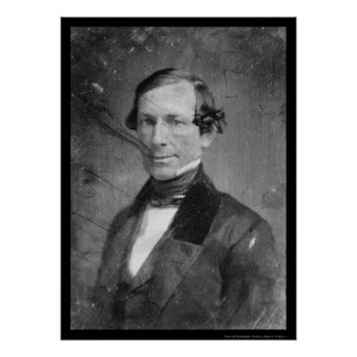 Vice President William R. King Daguerreotype 1848 Poster