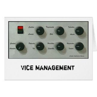 Vice versus Virtue [latin] Card