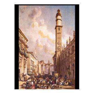 Vicenza', James Duffield Harding_Engravings Postcard