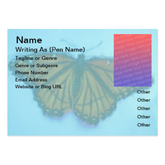 Viceroy Butterfly Author Photo Chubby Business Cards