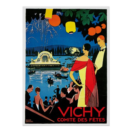 Vichy Comite Des Fetes ~ France Travel Art Print