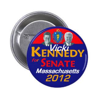 Vicki Kennedy 2012 Button