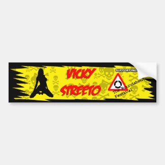 vicky_streeto bumper sticker