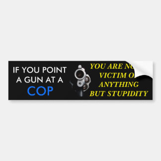 VICTIM BUMPER STICKER