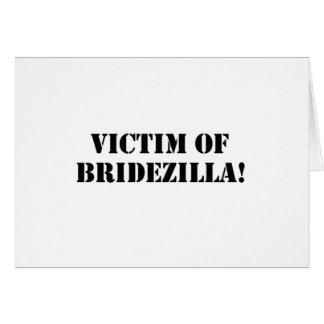 Victim of Bridezilla black Cards