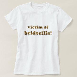 Victim of Bridezilla | Fun Tigerprint T-Shirt